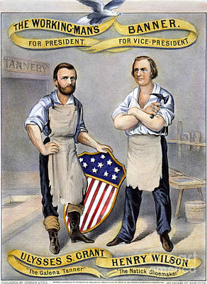 Shoemaker Photograph - Presidential Campaign, 1872 by Granger