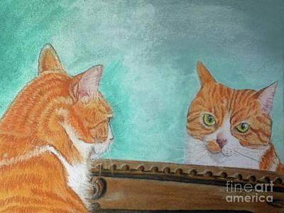Pretty Kitty Art Print by Teresa Vecere