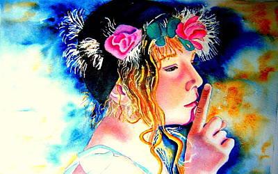 Princess Art Print by Amanda Pillet