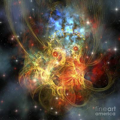Digital Art - Princess Nebula by Corey Ford