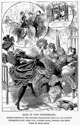 Bordello Photograph - Prostitution, 1895 by Granger
