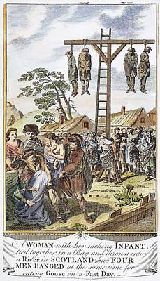Protestant Martyrs, 1563 Art Print by Granger