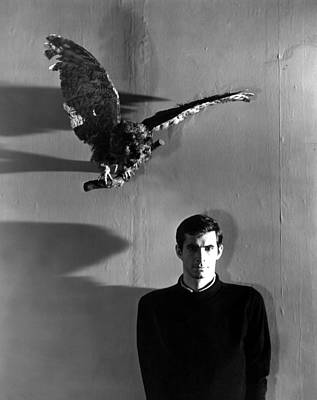 Films By Alfred Hitchcock Photograph - Psycho, Anthony Perkins, 1960 by Everett