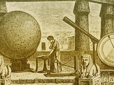 Ptolemy, Alexandria Observatory, 2nd Art Print by Science Source