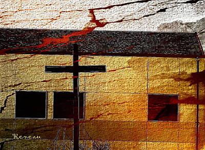 Photograph - Pueblo Cross by Sadie Reneau