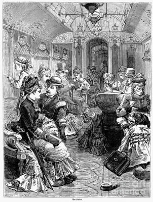 Pullman Car, 1876 Art Print by Granger
