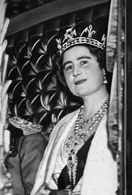 Queen Elizabeth 1900-2002, The Former Art Print by Everett