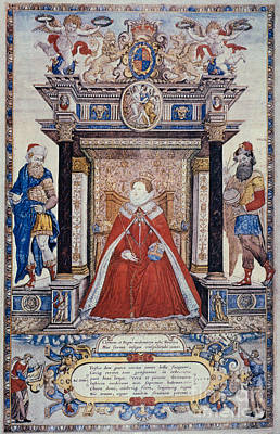 Photograph - Queen Elizabeth I by Granger