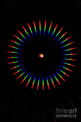 Quicklime Spectra Limelight Art Print by Ted Kinsman