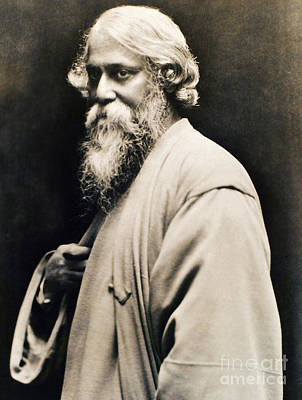 Photograph - Rabindranath Tagore by Granger