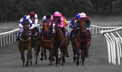 Photograph - Race To Win by Shaun Hopkinson