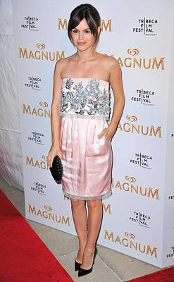 The Iac Building Photograph - Rachel Bilson Wearing A Chanel Couture by Everett