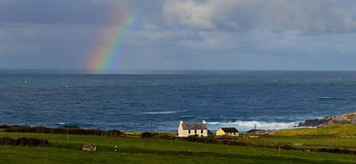 Photograph - Rainbow In Kerry by Barbara Walsh