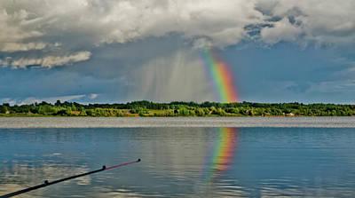 Photograph - Rainbow by Michael Goyberg