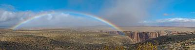 Arizona Photograph - Rainbow Over Grand Canyon by Twenty Two North Photography