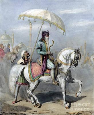 Indian Leaders Photograph - Ranjit Singh (1780-1839) by Granger