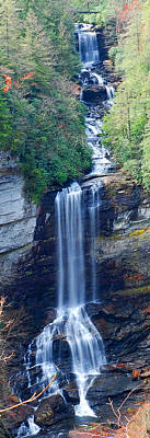 Photograph - Raven Cliff Falls by Alan Lenk