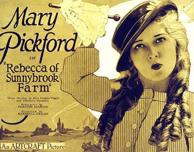Rebecca Of Sunnybrook Farm, Mary Art Print by Everett