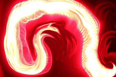 Flame Point Painting - Rebirth by Cyryn Fyrcyd