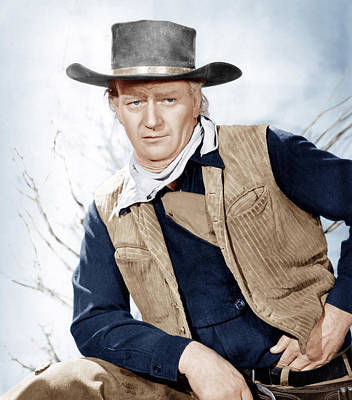 Incol Photograph - Red River, John Wayne, 1948 by Everett