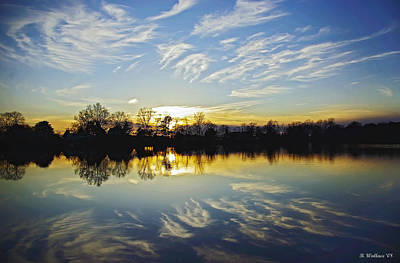 Hearns Pond Photograph - Reflections by Brian Wallace