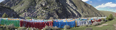 Tibetan Buddhism Photograph - Repotacha A Meditation Retreat by Phil Borges