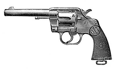 Photograph - Revolver, 19th Century by Granger