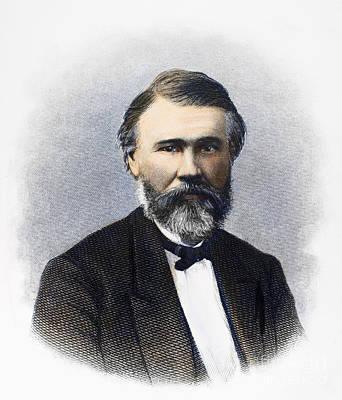 Richard Jordan Gatling Print by Granger