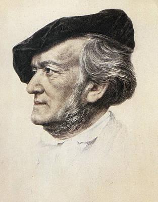 Richard Wagner (1813-1883) Print by Granger
