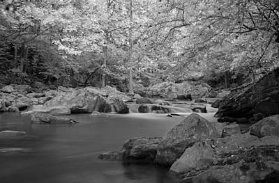 Richland Creek Photograph - Richland Creek by David Troxel