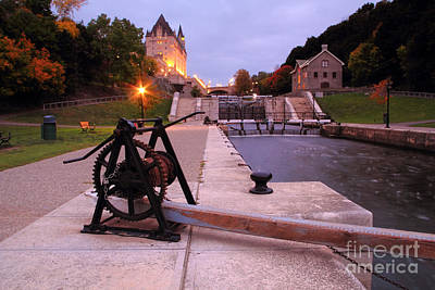 Photograph - Rideau Canal by Charline Xia