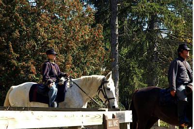 Pony Photograph - Riding Soldiers by LeeAnn McLaneGoetz McLaneGoetzStudioLLCcom