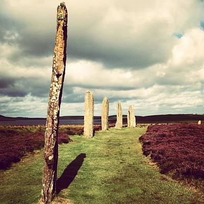 Landscapes Wall Art - Photograph - Ring Of Brodgar by Luisa Azzolini