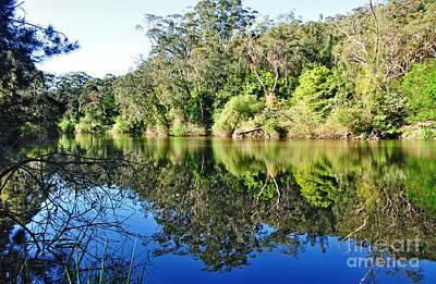 Photograph - River Reflections by Kaye Menner