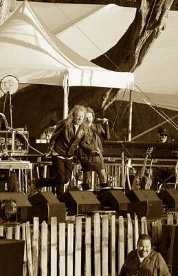 Robert Plant 5621 Sepia Original by Dennis Jones