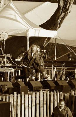 Robert Plant Photograph - Robert Plant 5621 Sepia by Dennis Jones