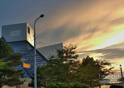 Rock And Roll Hall Of Fame Art Print by David Bearden
