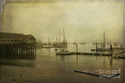 Rockland Harbor Art Print