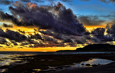 Photograph - Rocky Harbour At Sunset by Steve Hurt