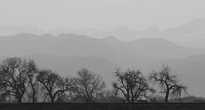 Photograph - Rocky Mountain Haze Panorama by James BO Insogna