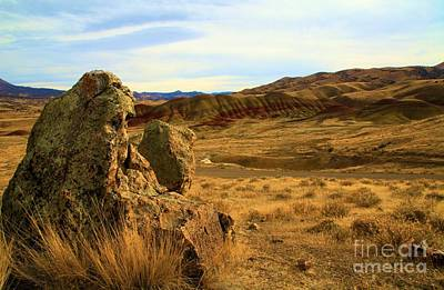 Photograph - Rocky Painted Hills by Adam Jewell