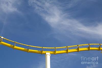 Roller Coaster Photograph - Roller Coaster, Santa Monica, California by Paul Edmondson