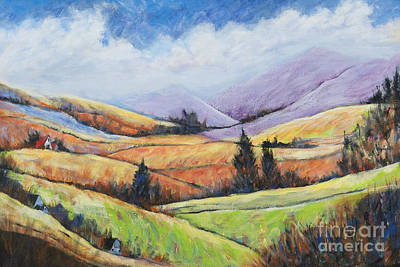 Painting - Rolling Hills 2 by Pati Pelz