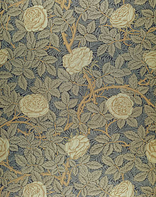 Wallpaper Tapestry - Textile - Rose by William Morris