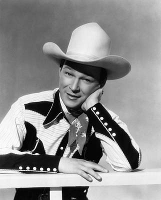 Roy Rogers, Ca. 1940s Print by Everett
