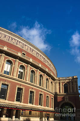Royal Albert Hall Print by Andrew  Michael