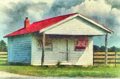 Art Print featuring the painting Royster Fertilizers  by Lynne Jenkins