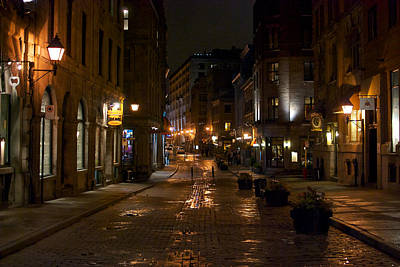 Montreal Streets Photograph - Rue St. Paul by Mike Horvath