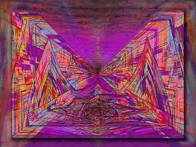Walkway Digital Art - Rumblings Within by Tim Allen