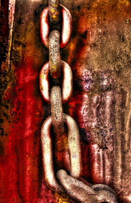Photograph - Rust Reaction by Greg Sharpe